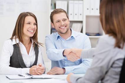 Bankgespr: Mit souverm Auftreten und Know-how berzeugen