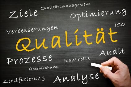 Q - wie Qualitmanagement bei Unternehmen