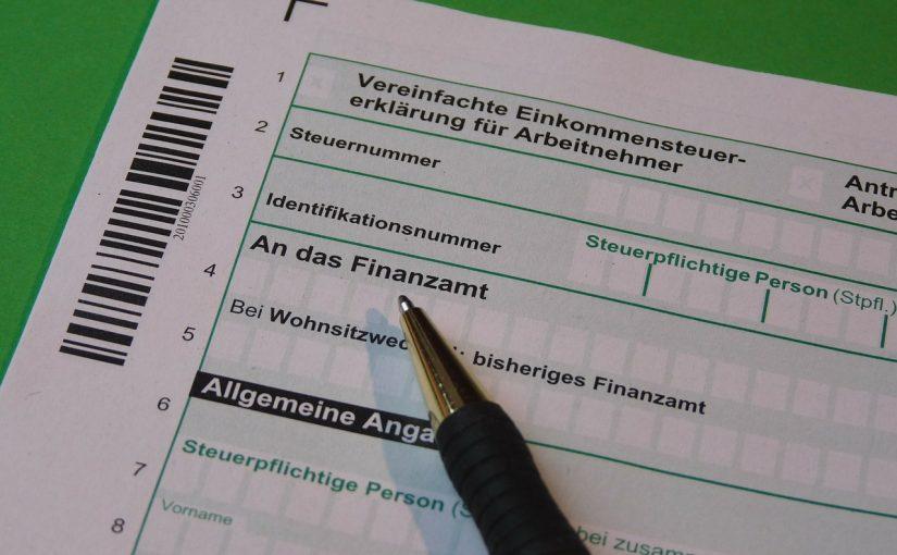 Einkommenssteuer Fristen Steuererklärung | Foto: (c) falco/ pixabay.com