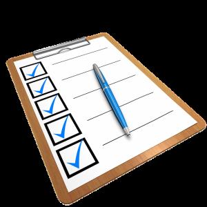Checkliste für Privatvermieter