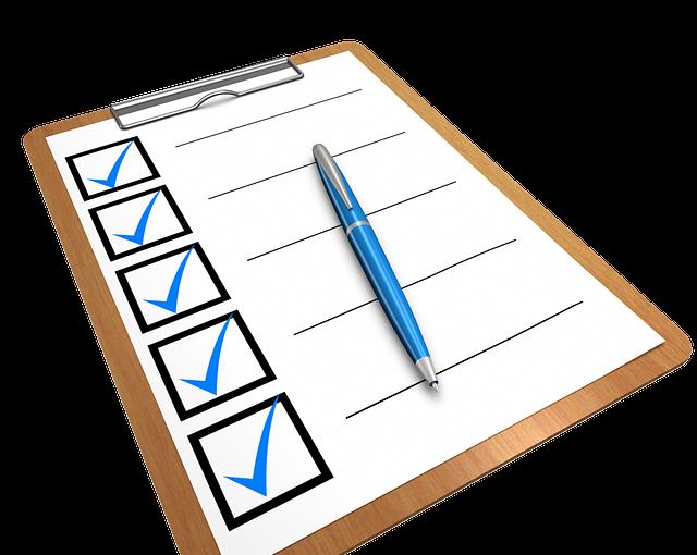 Wohnungsvermietung: Einfache Checkliste für Privatvermieter -Teil I