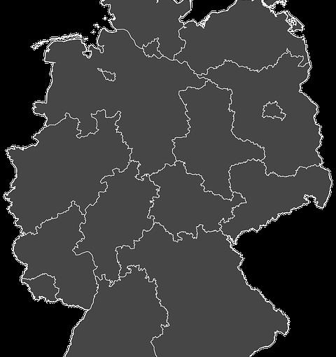Bundesländer Grundsteuer | Foto: (c) Mapcanyon/pixabay.com